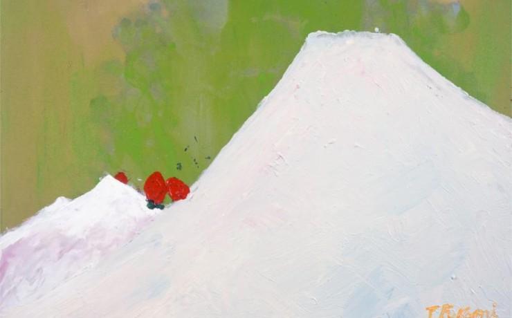 イチゴみるくホワイトチョコ富士