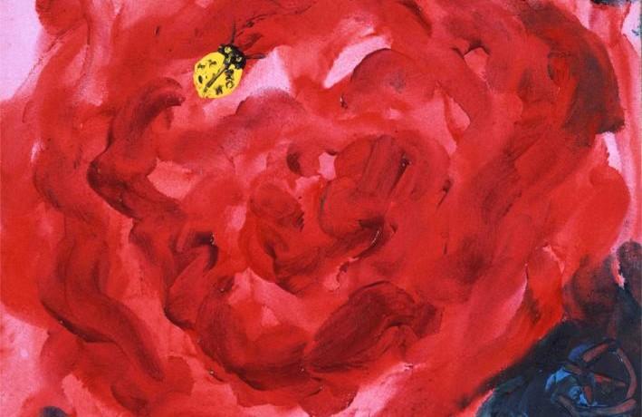 てんとう虫は紅薔薇が好き