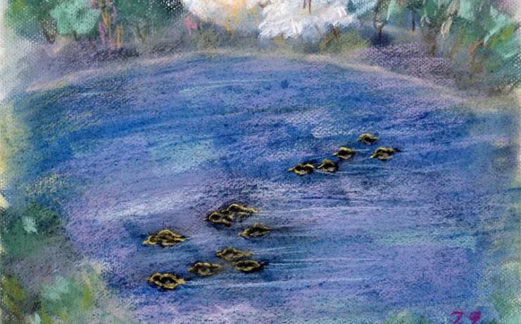 善福寺池の春