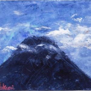 朝見た現実の富士