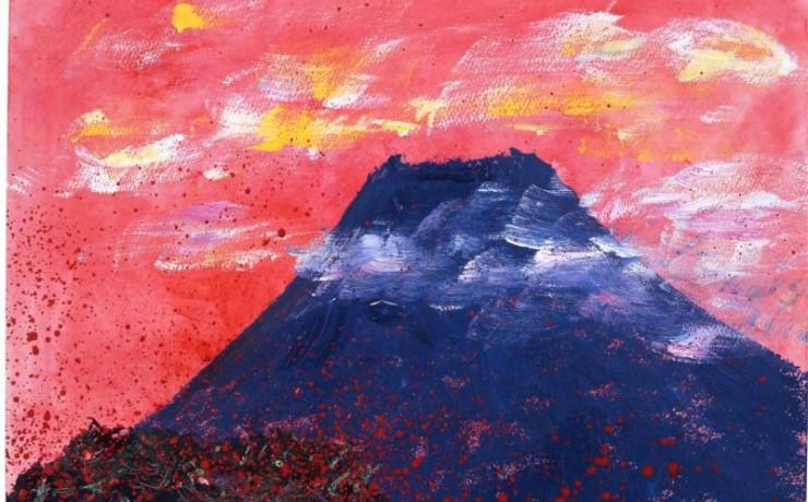 夕方見た富士の内面性