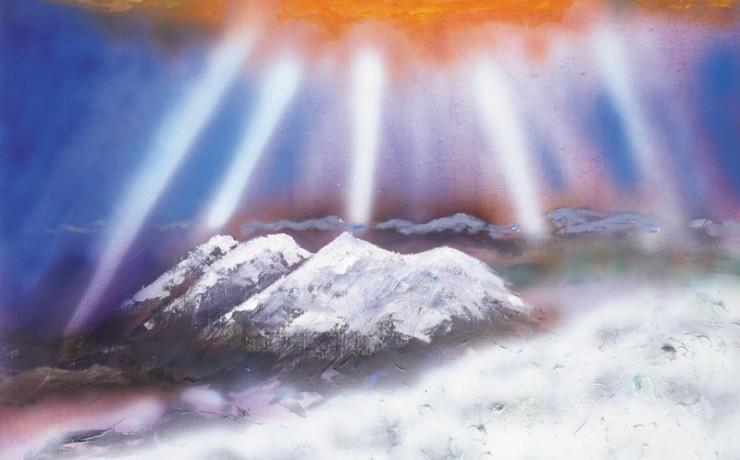 コロボックルのすむ山