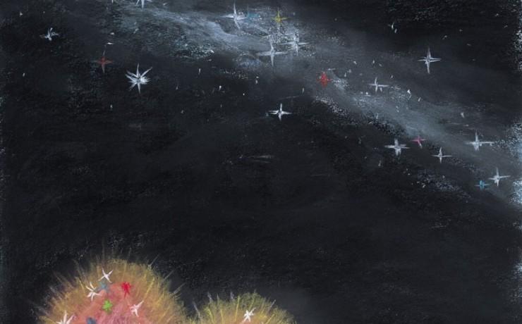 雌島雄島に降りてきた天の川の星屑