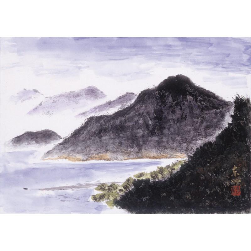 厳島・朝の海