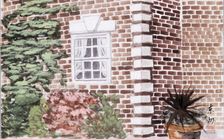 イギリス 煉瓦の家