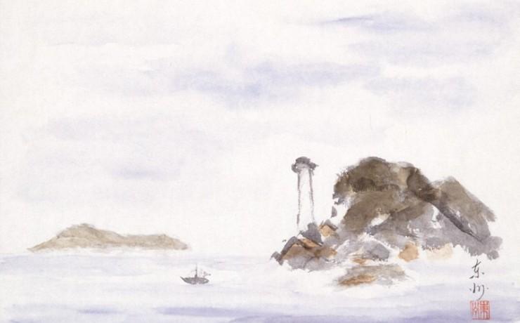 裸島の灯台