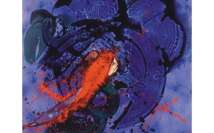 青龍神と緋鯉