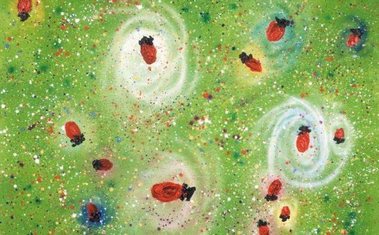 ケーキ座のイチゴ星雲