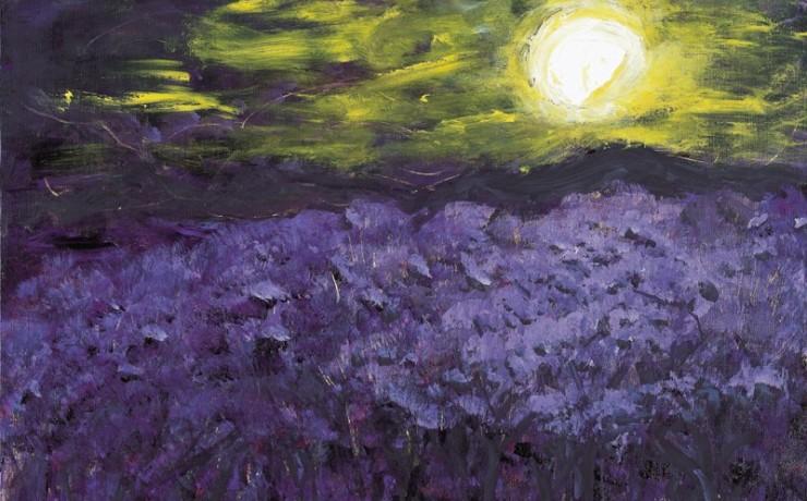 春まだ浅き月の夜