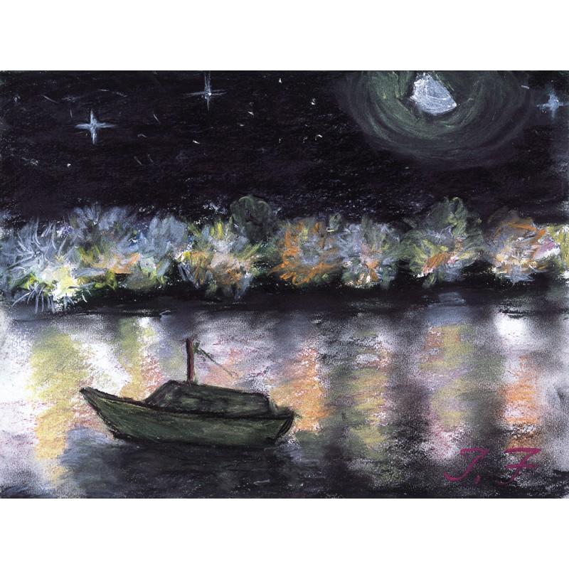パース・スワン川の夜景