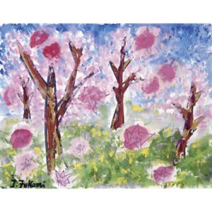 桜の星が降ってきた