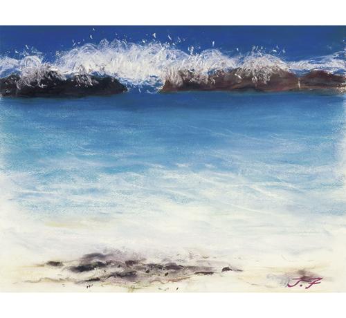 喜界島のスギラビーチは大好ぎら