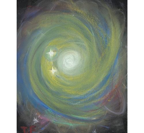 私が作ったひまわり銀河
