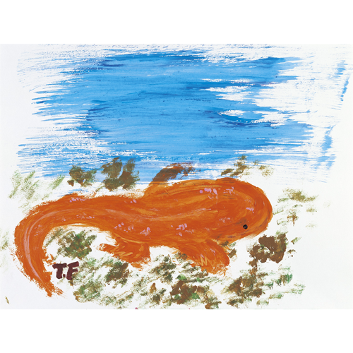 化身するタイミングを待つ大山椒魚