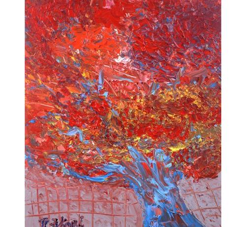 真如堂の『花の木』の紅葉は真っ盛り